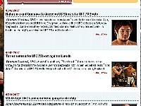 UFC公式サイト